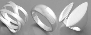 Ringe ohne Stein