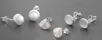 Weiße Ohrringe