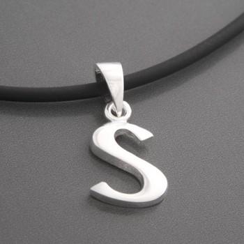 Anhänger Silber Buchstabe S
