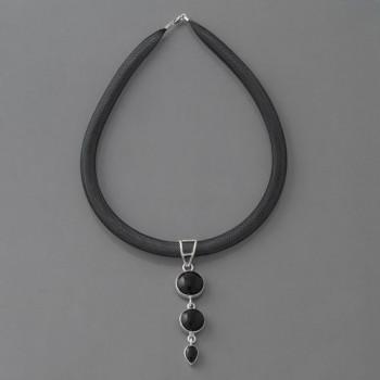 Halskette Onyx