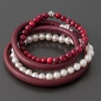 Armband-Set Rouge