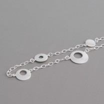 Halskette Kreise