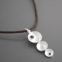 Halskette Anhänger Silber Cascara