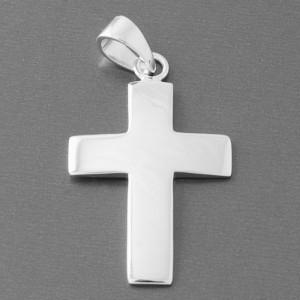 Kreuzanhänger Silber Darius