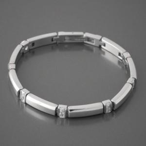 Armband Edelstahl Zirkonia FL PARIS