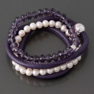 Armband-Set Lila