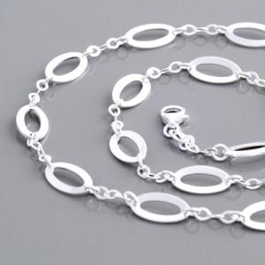 Halskette Oval