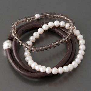 Armband-Set Braun