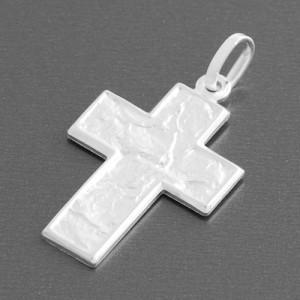 Kreuzanhänger Silber Laska