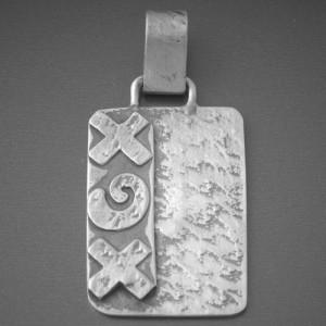 Kettenanhänger Silber XGX