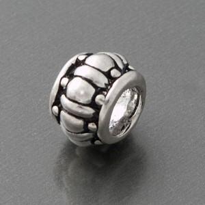 Anhänger Silber Bead antik