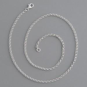 Erbskette Sterling Silber 2,2mm, Länge 70cm