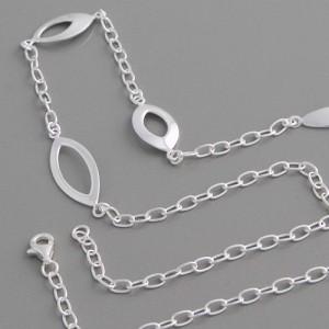 Halskette Ovale