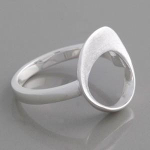 Silberring Kati Ringgröße 52 bis 60