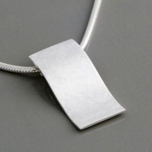 Anhänger Silber Design Wave