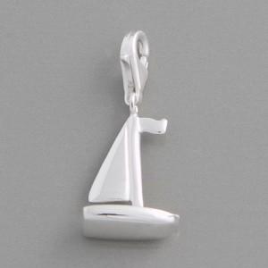 Charm-Anhänger Segelschiff