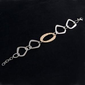 Armband Edelstahl vergoldet FL Paris