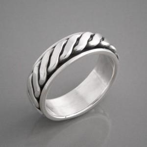 Ring-Silber Targa Ringgröße 58 bis 72