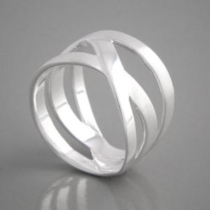 Silberring Dasha Ringgröße 52 bis 62
