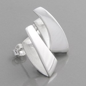 Ohrstecker Silber Futura