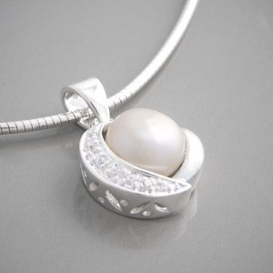 Silberanhänger Perle Calista