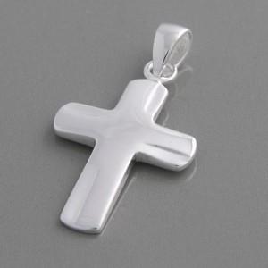 Kreuzanhänger Silber Vitus