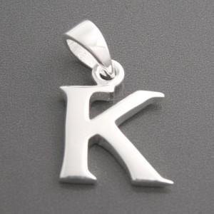 Anhänger Silber Buchstabe K