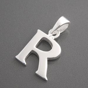 Anhänger Silber Buchstabe R