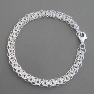 Silberarmband Impera