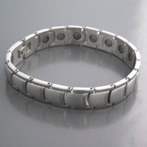 Edelstahl Magnet Armband
