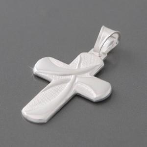 Kreuzanhänger Silber Manello