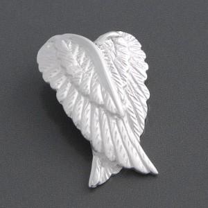 Flügel Anhänger Silber