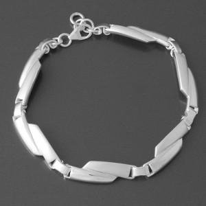 Silber Armband Agate