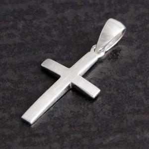 Kreuzanhänger Silber Jakob, matt