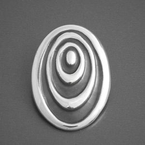 Anhänger Silber oval Mira klein