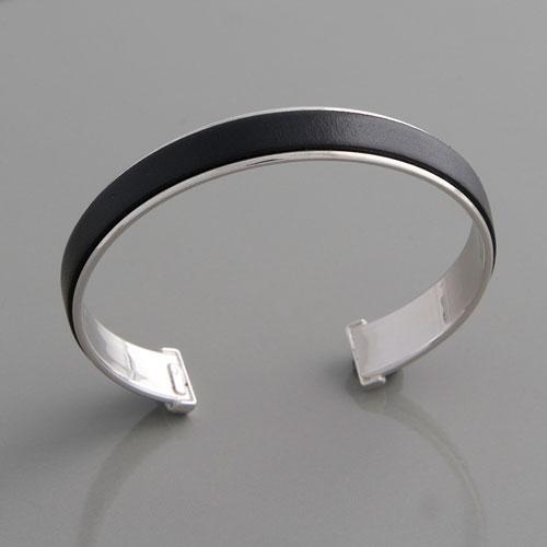 Armreif silber  Armreifen Silber, Silberarmreif, Lederarmreif