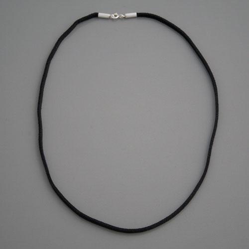 große sorten Weltweit Versandkostenfrei am beliebtesten Velours-Lederkette schwarz 3mm, Länge 45cm