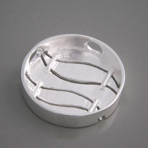 Kettenanhänger silber  Silberschmuck-Anhänger Kreis