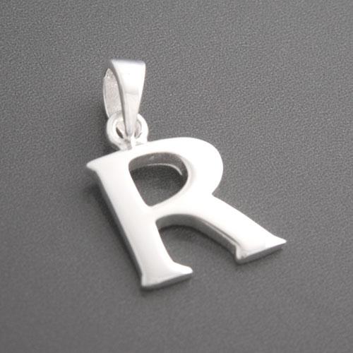 STELLA /& DOT Charm Buchstabe R Anhänger Kette Farbe:silber Kettenanhänger