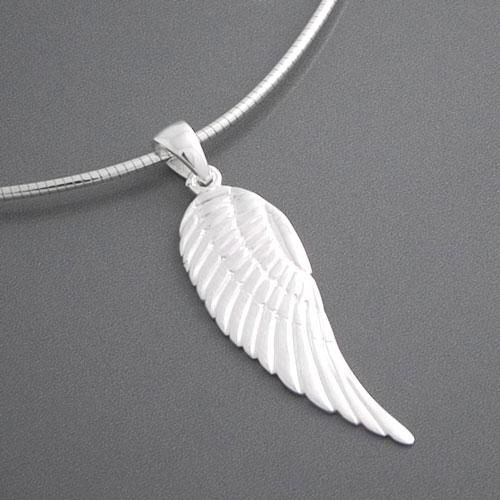 Kettenanhänger silber  Anhänger Flügel Engel aus 925 Silber | Engelschmuck