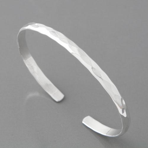 Schmaler Silberarmreif aus 925 Silber im modernen Design c3498baa54