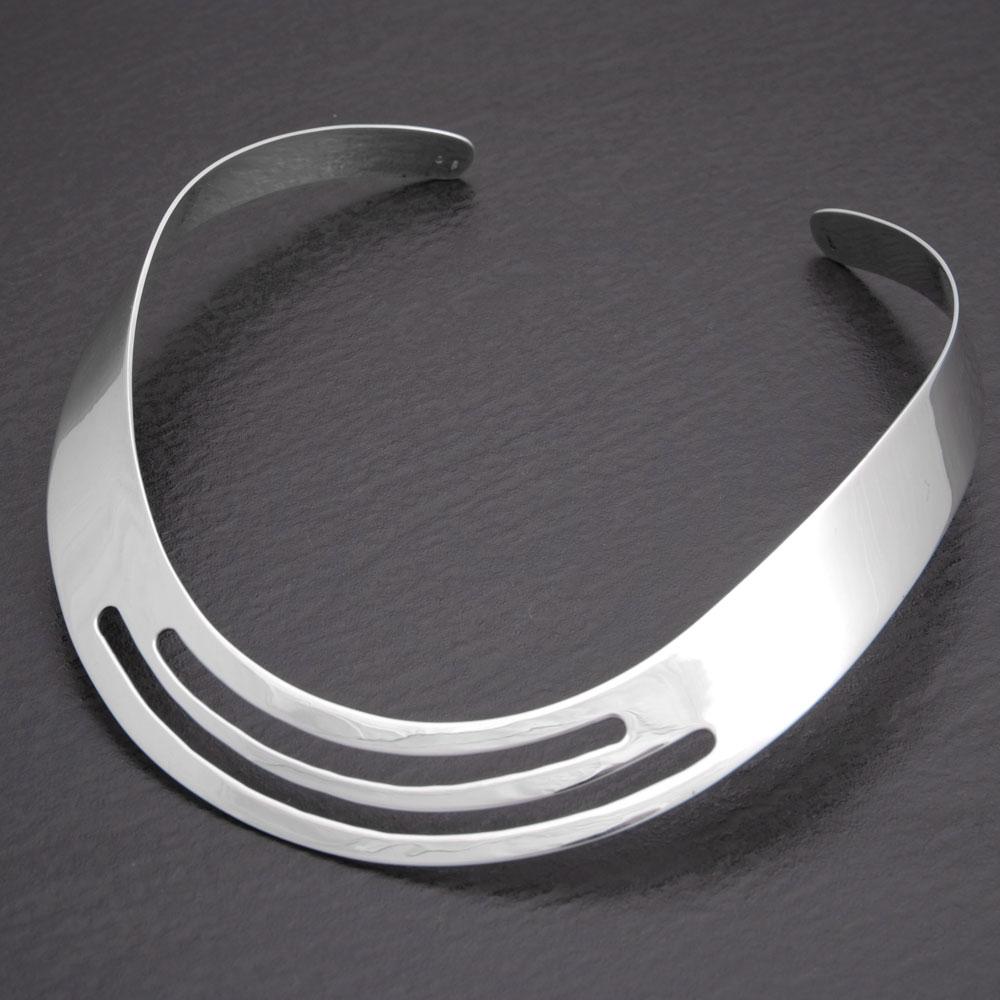Halsreif  Faszinierender Halsreif aus 925 Sterling Silber im stilvollen Design