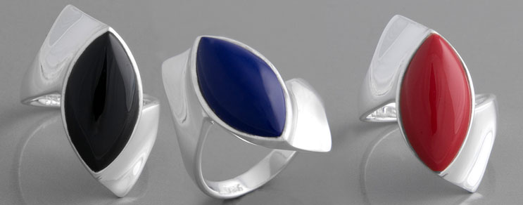 Ringe nach Farbe