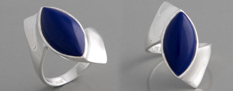Blaue Ringe